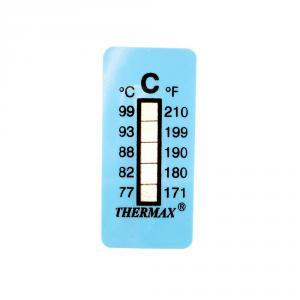 Výrobek: Samolepící teploměr / indikační proužek nereversibilní 77-99°C