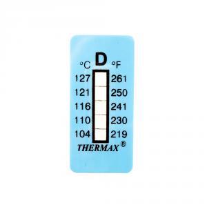 Výrobek: Samolepící teploměr / indikační proužek nereversibilní 104-127°C