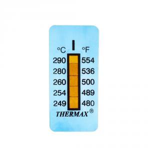 Výrobek: Samolepící teploměr / indikační proužek nereversibilní 249-290°C