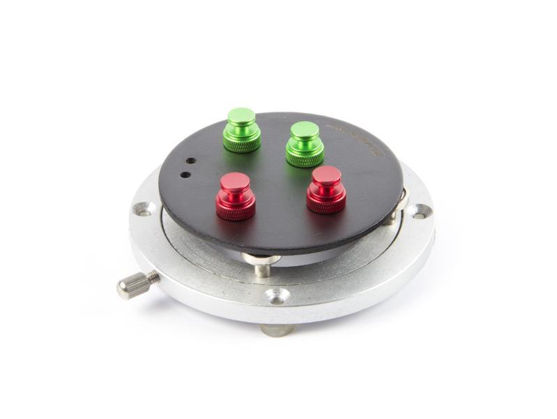 360° rotacni magnetická platforma pro uchycení DPS pod mikroskopem