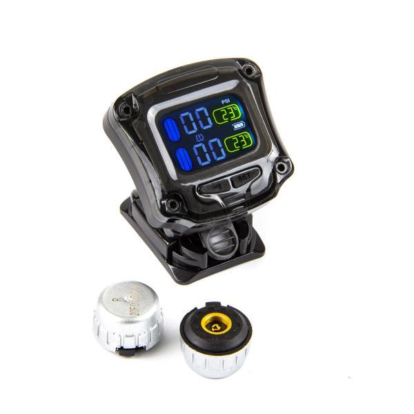 TPMS - bezdrátový systém měření tlaku a teploty v pneu pro Motorky