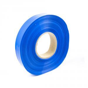 Modrá smršťovací PVC fólie 2:1 šíře 20mm, průměr 12mm