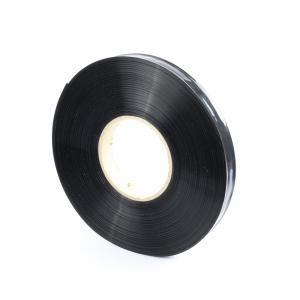 Černá smršťovací PVC fólie 2:1 šíře 25mm, průměr 15mm
