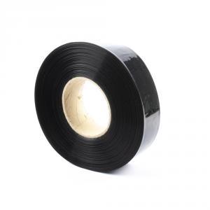 Černá smršťovací PVC fólie 2:1 šíře 35mm, průměr 21mm