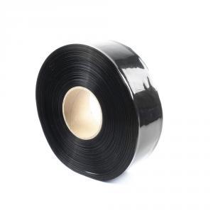 Černá smršťovací PVC fólie šíře 50mm, průměr 30mm