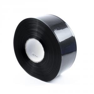 Černá smršťovací PVC fólie 2:1 šíře 70mm, průměr 42mm