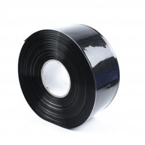 Černá smršťovací PVC fólie 2:1 šíře 80mm, průměr 49mm
