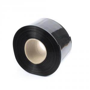 Černá smršťovací PVC fólie 2:1 šíře 90mm, průměr 55mm