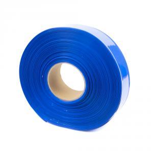 Modrá smršťovací PVC fólie 2:1 šíře 40mm, průměr 24mm