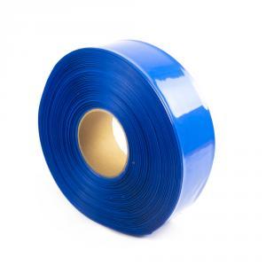 Modrá smršťovací PVC fólie 2:1 šíře 60mm, průměr 36mm