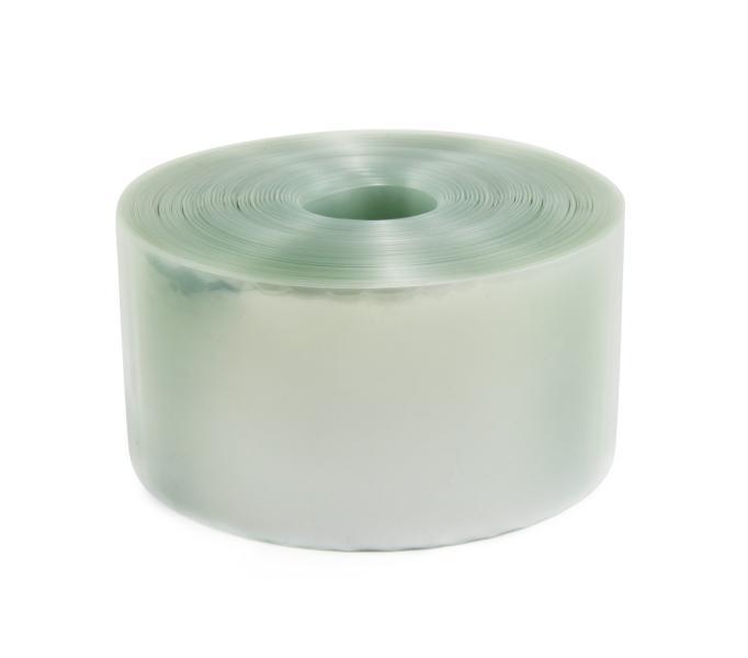 Transparentní smršťovací PVC fólie 2:1 šíře 100mm, průměr 64mm