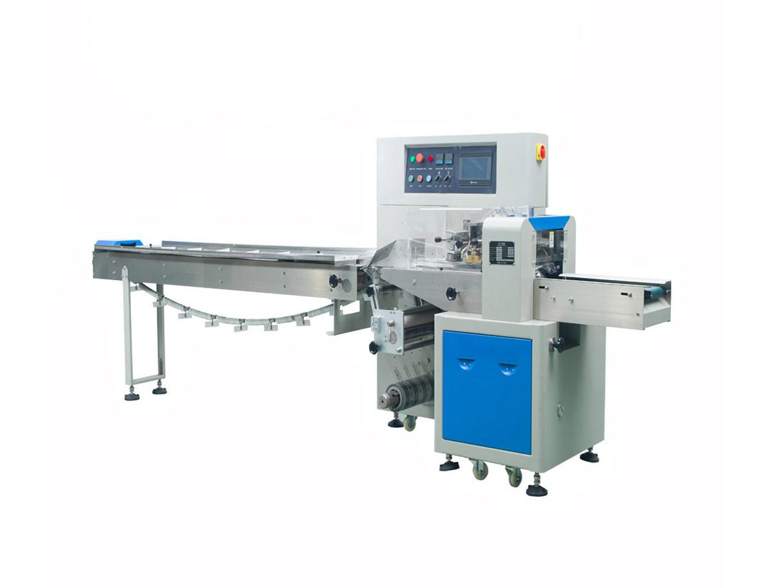 Horizontální balící stroj KT-250X pro balení produktů a potravin