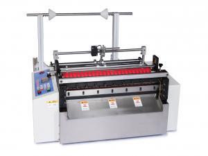 Příčná dělička materiálů CXY-500G do šíře 500mm s optickou detekcí