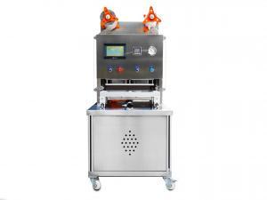 Poloautomatická balička hotových jídel do dvoudílných misek 227x178mm s ochrannou atmosférou