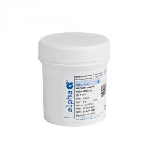 Olovnatá pájecí pasta Alpha OM-5300 62Sn/36Pb/2Ag 0,5kg