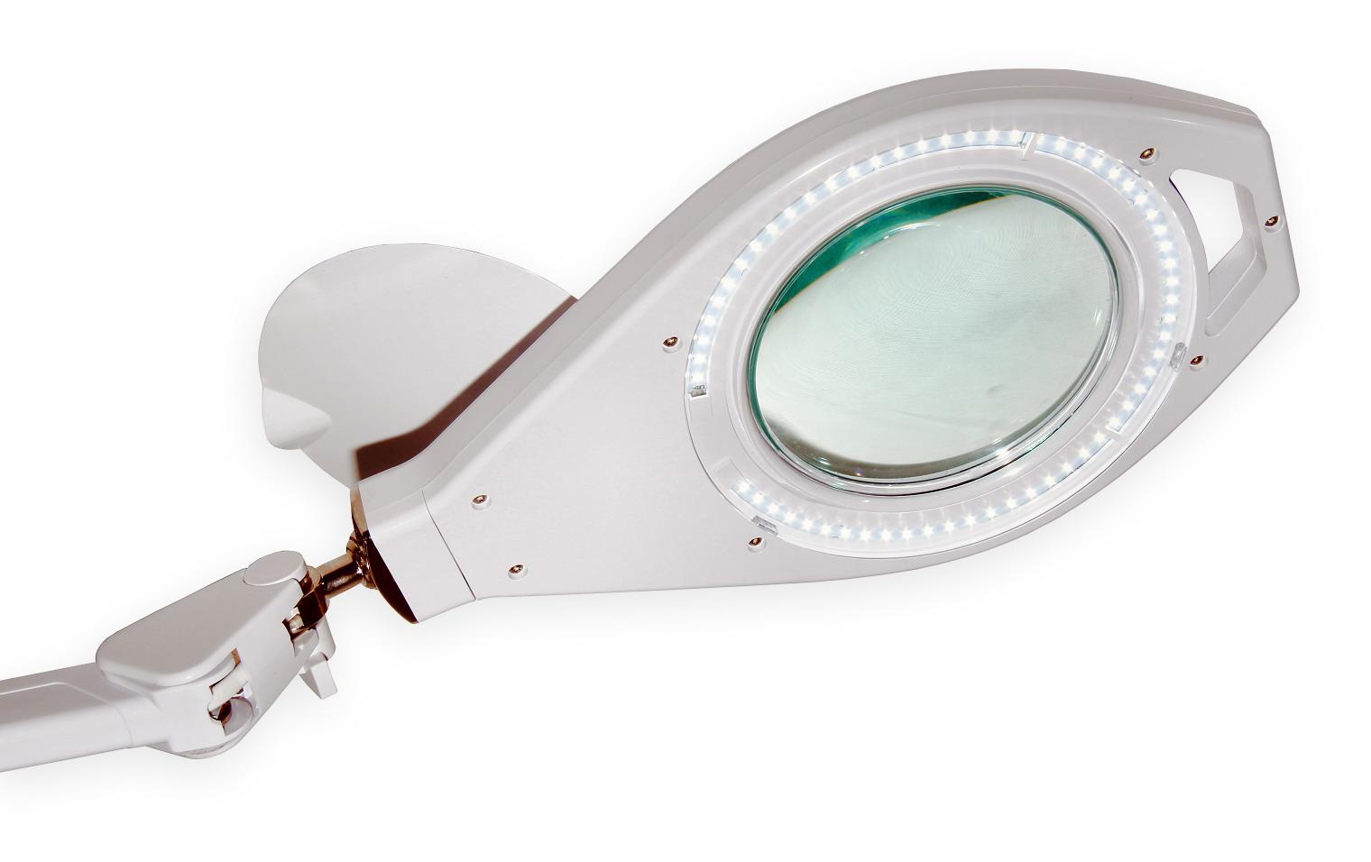 Stolní lampa s LED osvětlením typ LUX zvětšení 8D