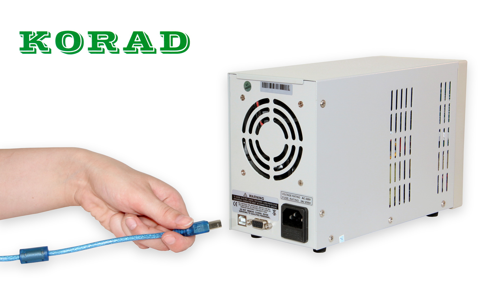 Programovatelný laboratorní zdroj Korad KA3005P s připojením k PC