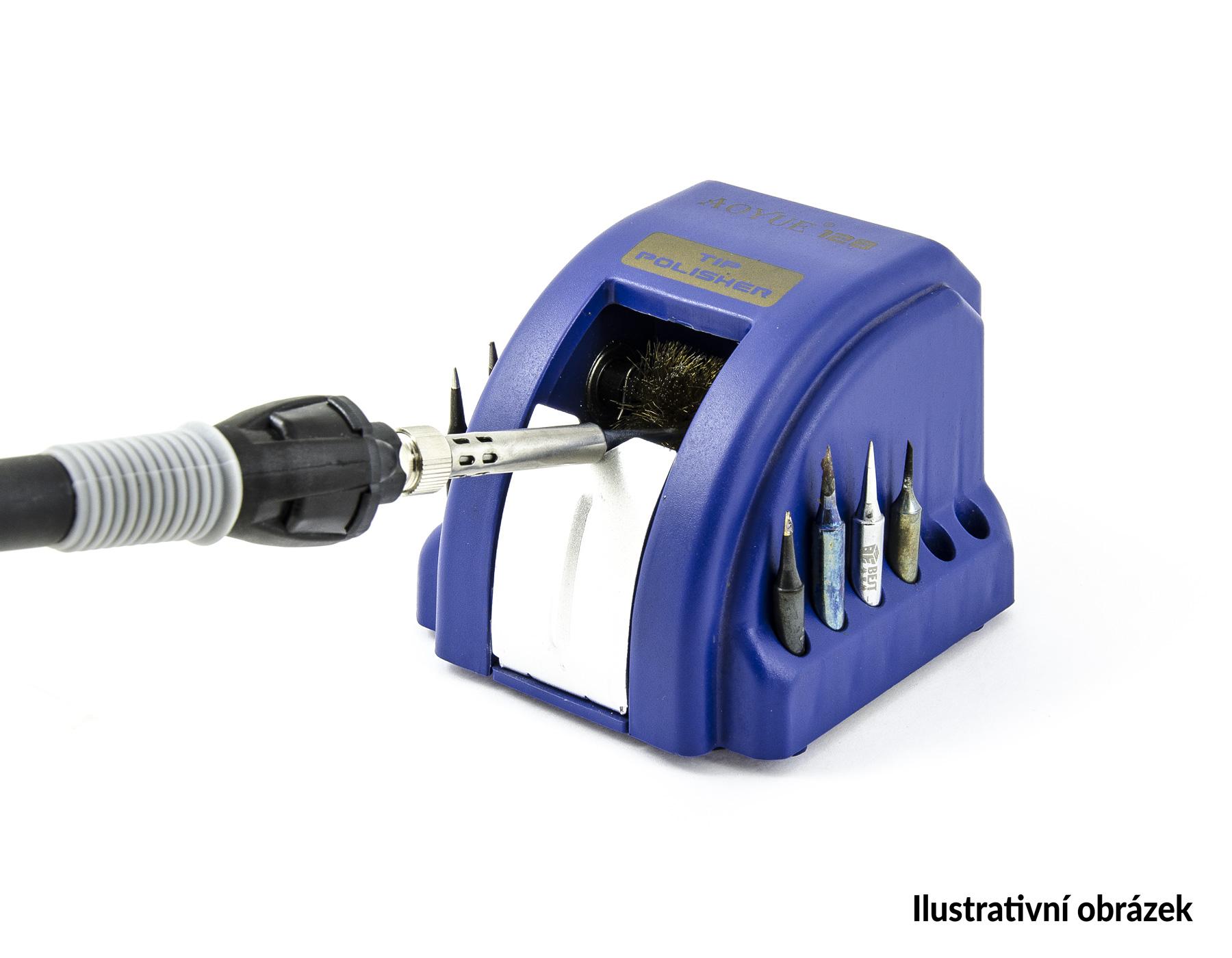 Automatický čistič pájecího hrotu AOYUE 128