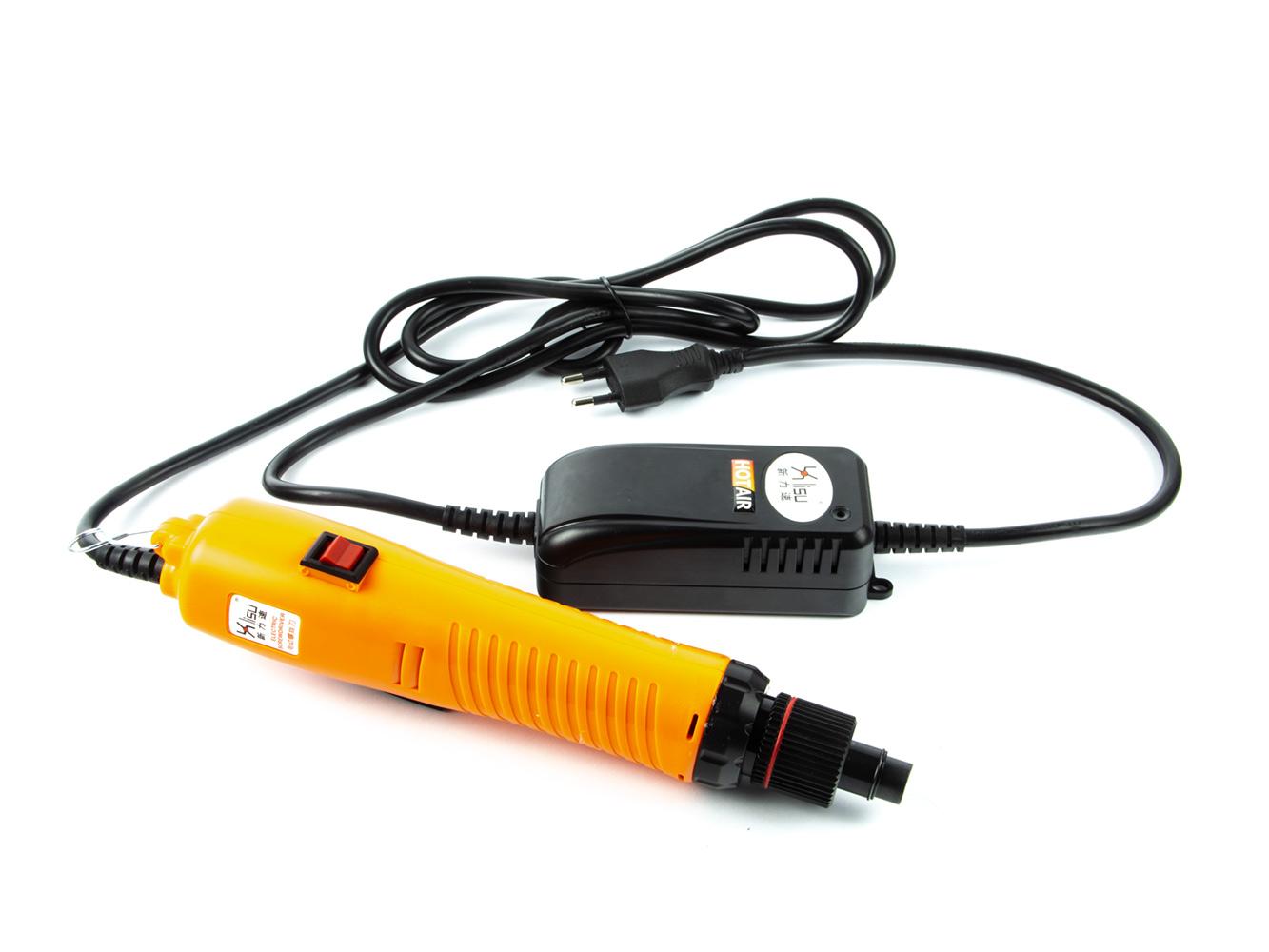 Ruční elektrický utahovák šroubovacích víček 120W 1-5Nm + balancér