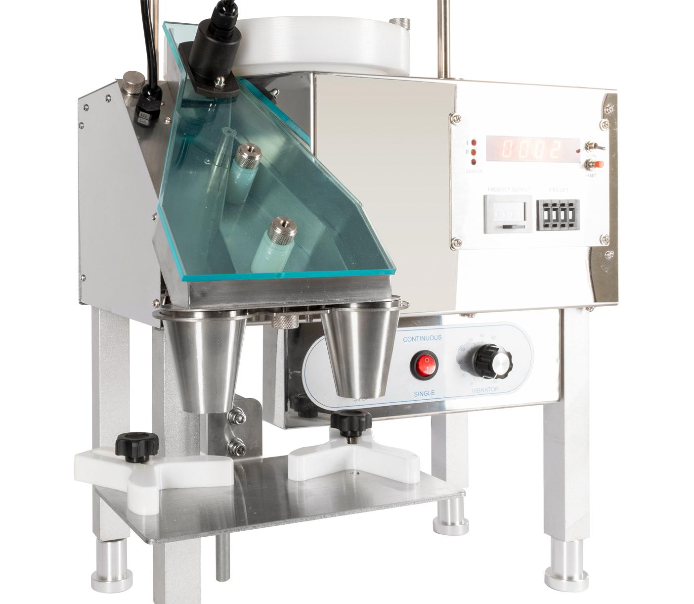 Počítací a dávkovací stroj pro kapsle, pilulky a tobolky YL-2A
